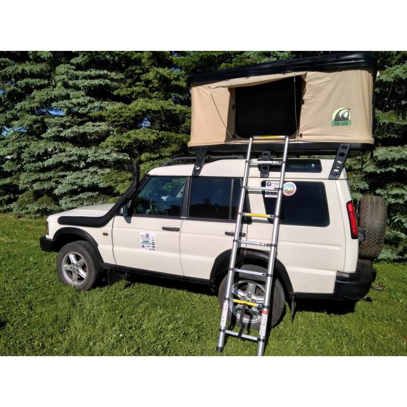 Namiot dachowy w twardej obudowie WildCamp 2-3 osobowy