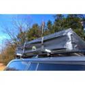 Zadaszenie markiza 2,5x2,5m mocowane do bagażnika dachowego