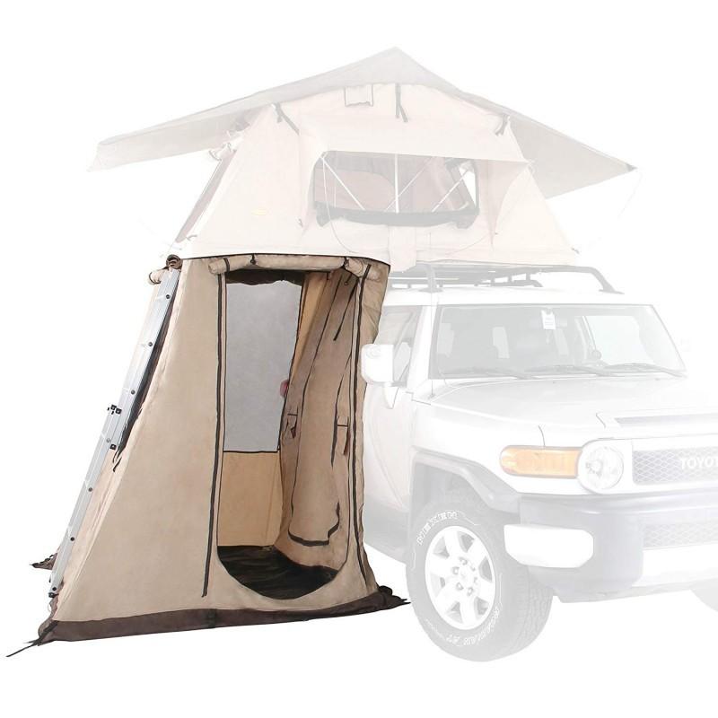 Przedsionek namiotu dachowego krótki 140cm 2 3 osobowego