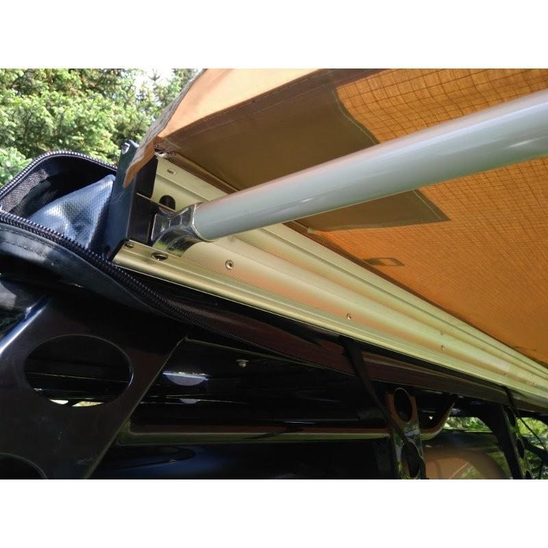 Przedsionek namiotu dachowego 160cm 3-4 osobowego
