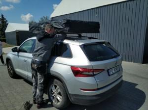 Skoda KODIAK Namiot Dachowy WildCamp Missisipi