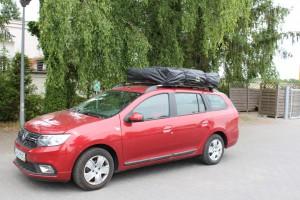 Dacia logan z namiotem Dachowym