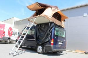 Ford Transit z namitoem Dachowym WIldCamp