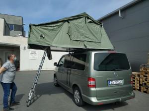 VW T5 namiot dachowy wildcamp 180