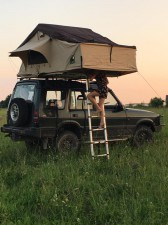 Namiot Dachowy Land Rover Discovery LR WILDCAMP
